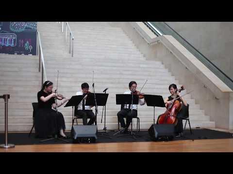 Waltz (Swan Lake) - Tchaikovsky - Arpeggione String Quartet (Singapore)