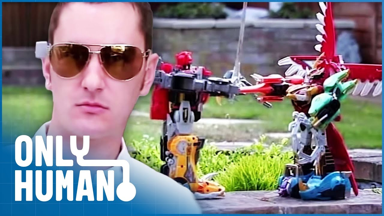 Man's Army of Toy Robots Sending Him Into Debt | Spendaholics | Only Human