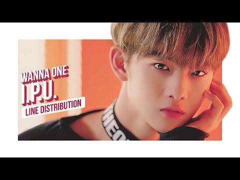 Free Download Wanna One - I.p.u. Line Distribution (color Coded) | 워너원 - 약속해요 Mp3 dan Mp4