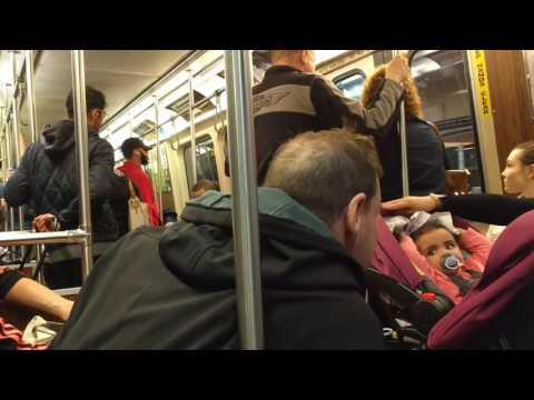 A ride on the MBTA Orange line in Boston