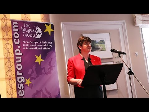 Arlene Foster on Corbyn, the border and Brexit