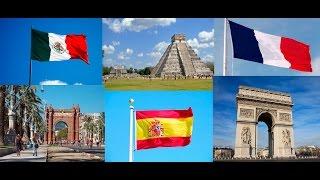 TOP 11 países mas visitados del mundo
