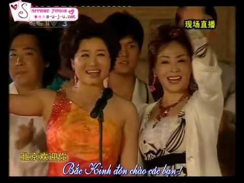 Vietsub 30 04 08 Beijing Welcome You   HanKyung ft  Various Artists s u j u net