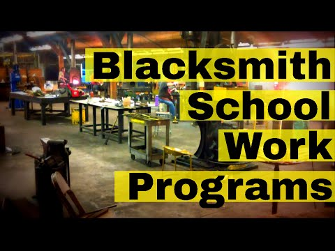 Reduced Cost Blacksmith Cl Work Study Programs In Us To Learn Blacksmithing