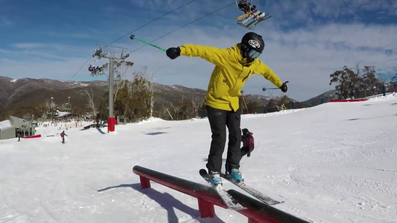 Thredbo Parks: Cruiser Terrain Park July 2017