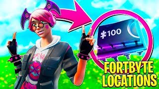 FORTNITE FORTBYTE #14 | LOCATED AT AN RV PARK