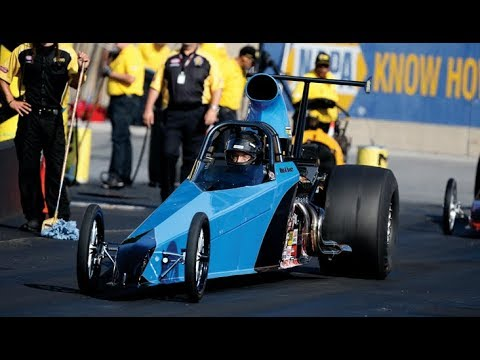 2018 Dodge NHRA Nationals Super Comp winner Mike Robilotto