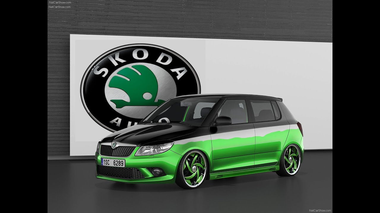 skoda fabia rs youtube. Black Bedroom Furniture Sets. Home Design Ideas