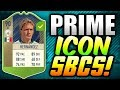 100K PROFIT ON ONE CARD?! - FUTURE PRIME ICON SBC INVESTMENTS! (FIFA 18)