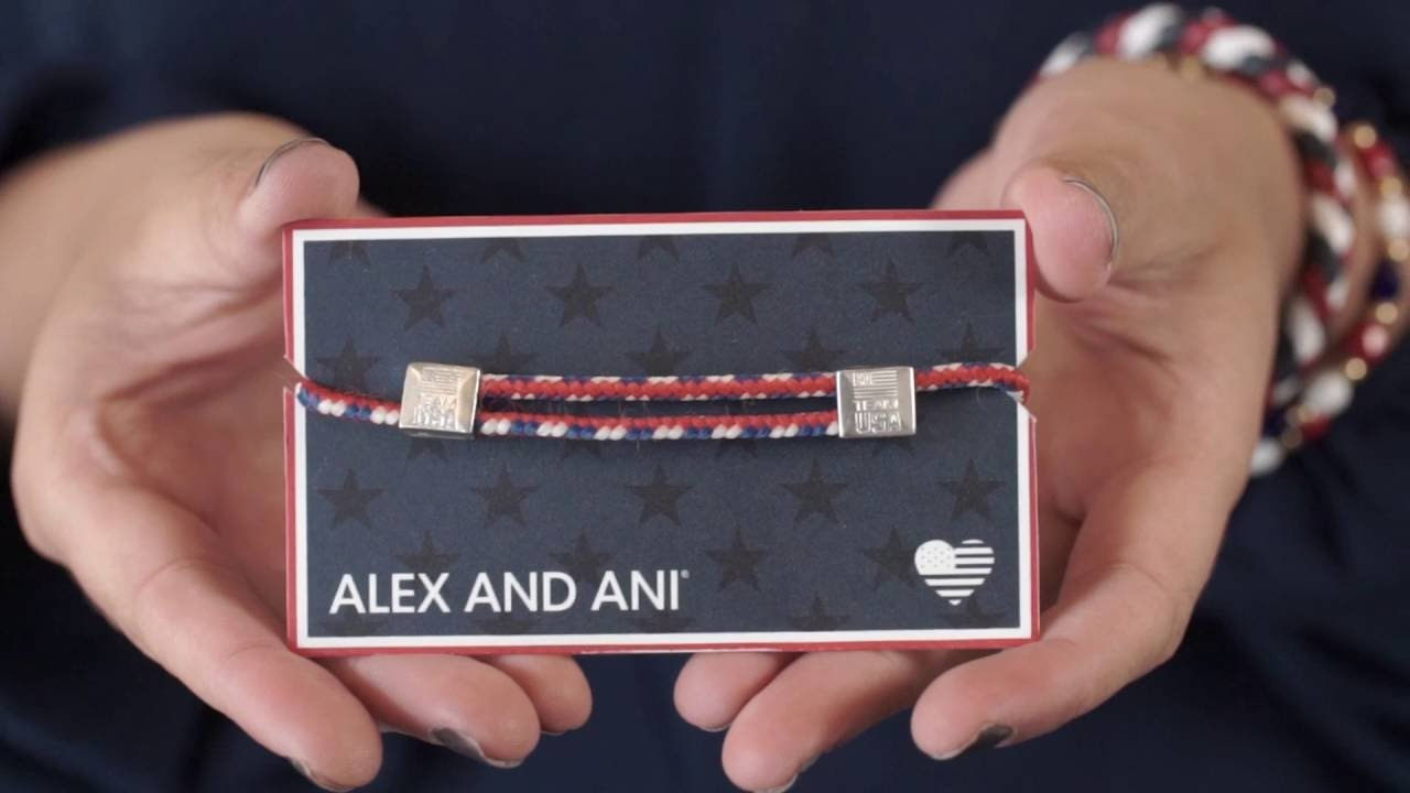 How To Wear The Alex And Ani Olympic Hope Rope Adjule Bracelet
