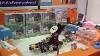 3D принтеры, конструкторы роботов, мультикоптеры - обзор выставки Robotics Expo (27.11-29.11)