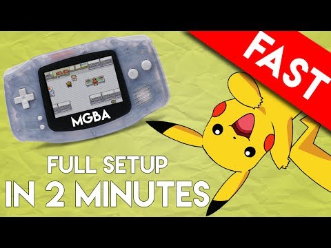 mGBA Emulator for PC: Full Setup and Play in 2 Minutes (The