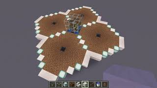 Minecraft 1.16 Fully Automatic Wheat and Bone Meal Farm