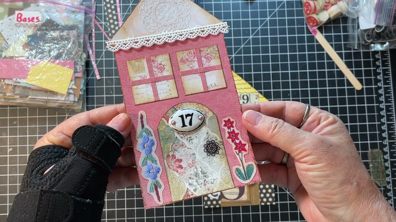 Mixed Media Monday! - MM Canvas to JJ Tags!