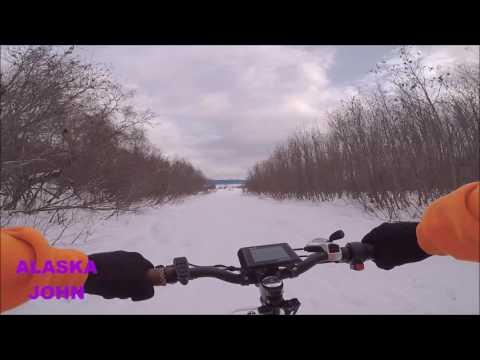 RadMini Electric Bicycle Ride - Anchorage Alaska - April 1st 2017