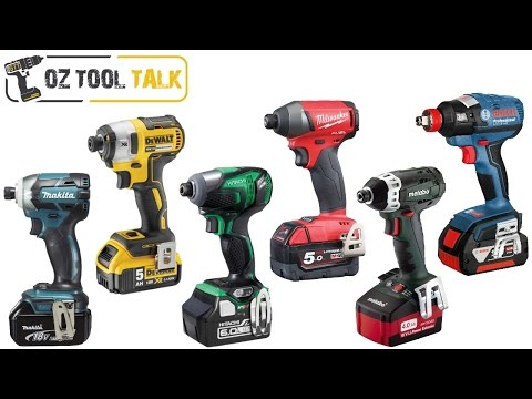 18V Brushless Impact Driver Shootout - Makita, Milwaukee, Dewalt, Bosch, Hitachi, Metabo