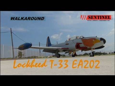Walkaround a un Lockheed T33