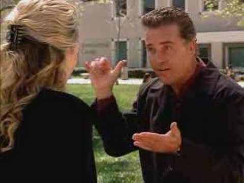 Grissom Speaks sign language with Dr. Gilbert