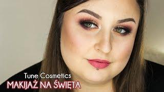 Makijaż na Świeta i Sylwestra | Tune Comsetics, The (D)-dur eyeshadow Palette