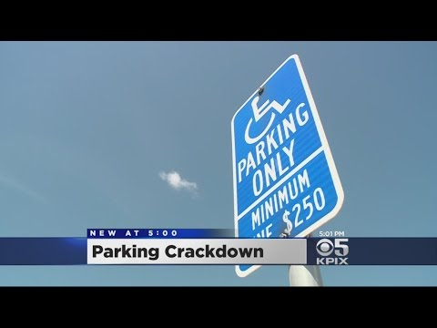 California Lawmakers Want Crackdown On Disabled Parking Cheaters