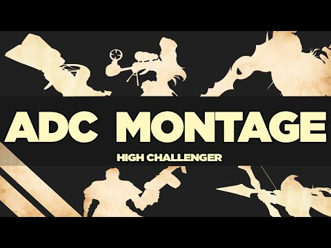 High Elo Challenger ADC Montage - Ft. C9 Sneaky, GMB P1noy, CLG Doublelift, Zvanillan and more