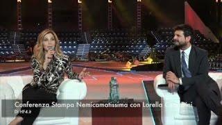 Nemicamatissima: Lorella Cuccarini in conferenza stampa