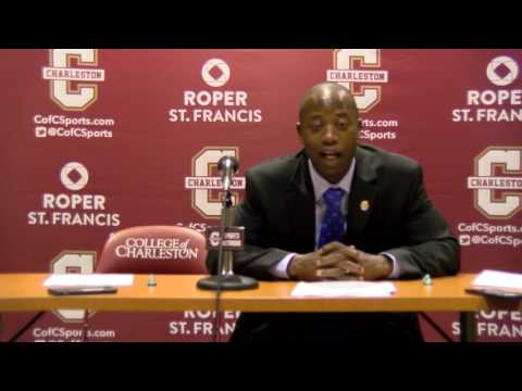 CofC Men's Basketball vs. William & Mary - Post Game Interview