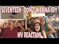 AKA REACTS! SEVENTEEN (세븐틴) - Don't Wanna Cry (울고 싶지 않아) MV Reaction