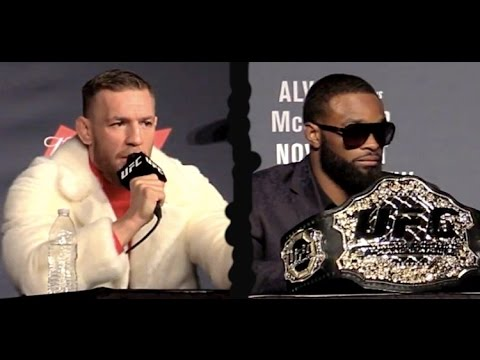 Thumbnail: Conor McGregor to Tyron Woodley: 'All the Belts!'