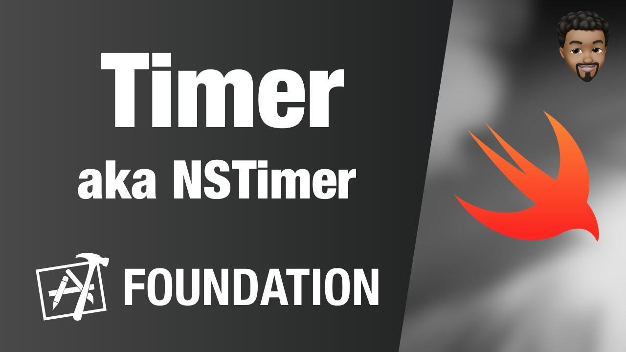 Timer (aka NSTimer) | Swift 4, Xcode 10