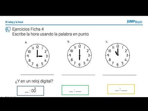 1. Unidad 10. El reloj y la hora