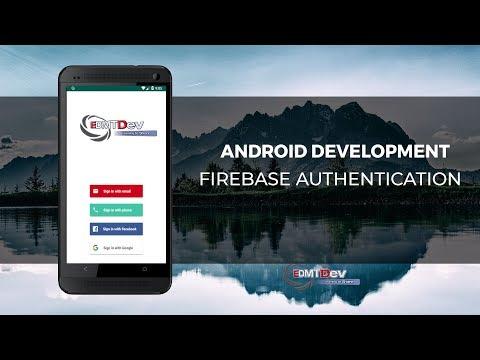 Android Studio Tutorial - Firebase Authentication (2019 Version)