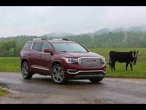 GMC Acadia 2017 Car Review