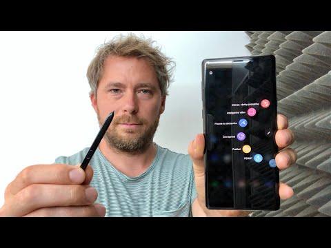 Samsung Galaxy Note 9 (prvý kontakt)