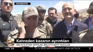 Şırnak'taki helikopter kazasının ayrıntıları ortaya çıktı: Birlikte iftar yaptılar