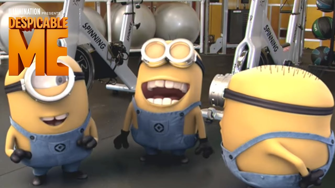 Despicable Me Minions On Quot The Biggest Loser