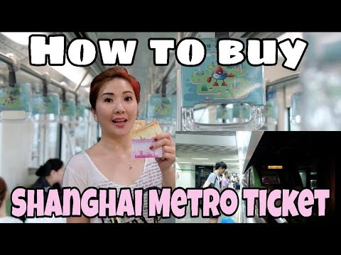 How to Buy Shanghai Metro Tickets from the Vending Machine - Travel Myfunfoodiary