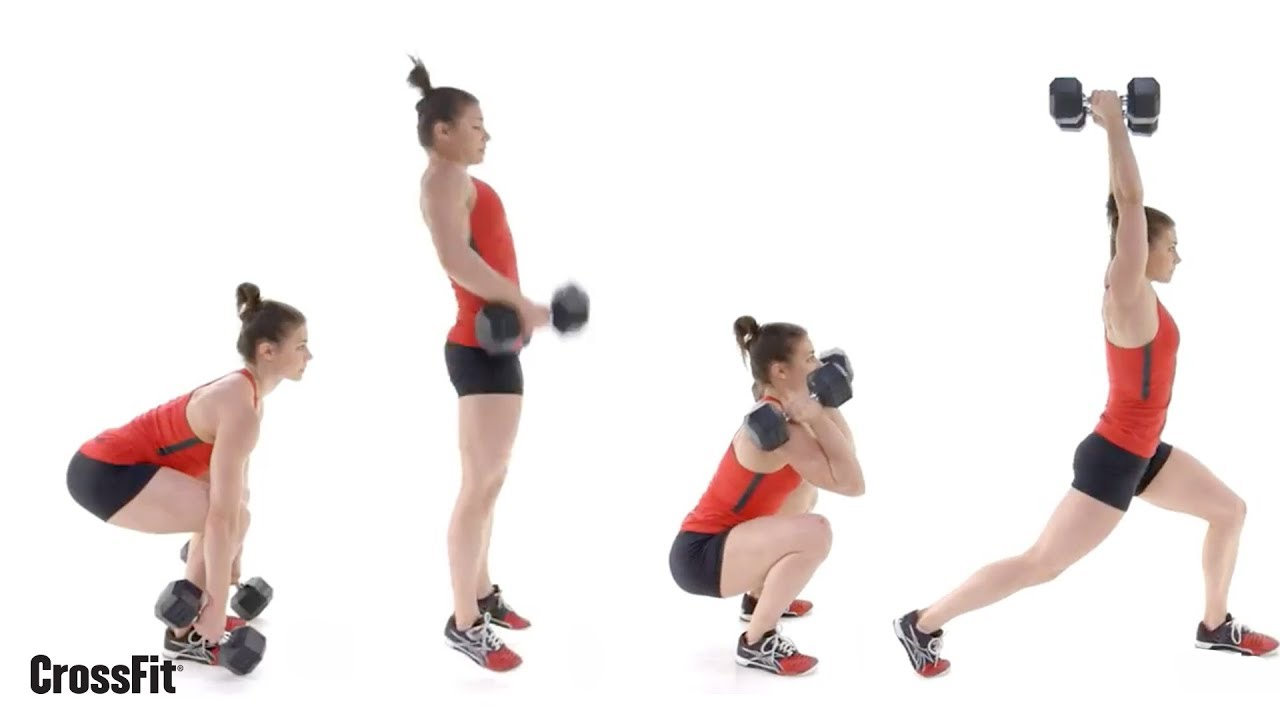 MOVEMENT TIP: The Dumbbell Clean and Split Jerk | Crossfit ASG