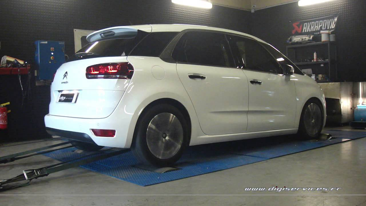 citroen c4 picasso 1 6 hdi 115cv reprogrammation moteur 137cv digiservices paris 77 dyno youtube. Black Bedroom Furniture Sets. Home Design Ideas