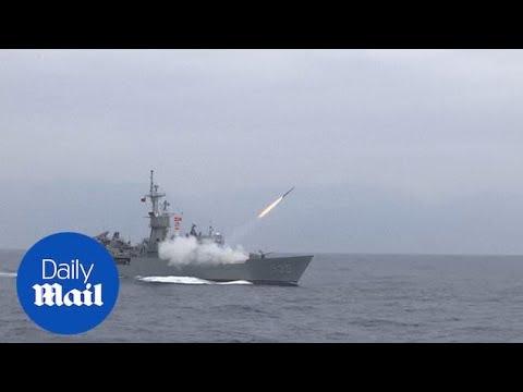 Taiwan military runs live fire drills amid escalating China tensions