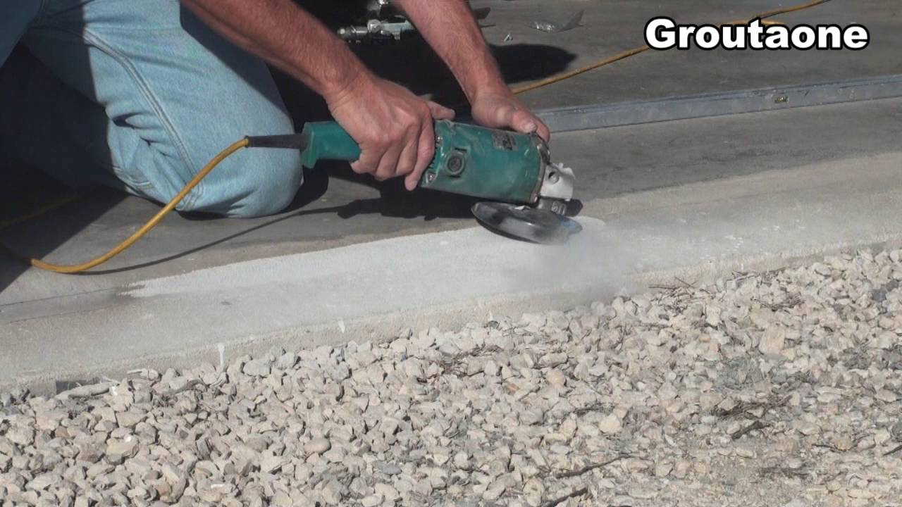 Fitting A Cement Pad To A Garage Door Youtube