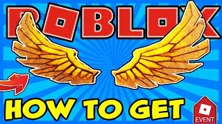 [EVENT] HOW TO GET THE DIY GOLDEN BLOXY WINGS IN ROBLOX | 2019 BLOXYS EVENT
