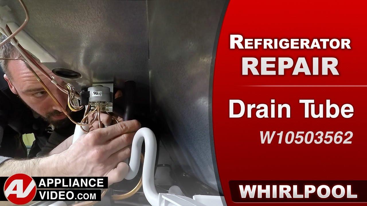 Whirlpool, Maytag & KitchenAid - Drain Tube water leak - Diagnostic on