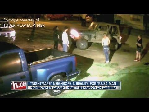 """""""Nightmare"""" Neighbors A Reality For Tulsa Man"""