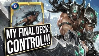 The Last Deck I Played: HUGE Control! | Legends of Runeterra | League of Legends Card Game