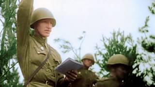 Цветная хроника  Великой Отечественной, уникальные кадры