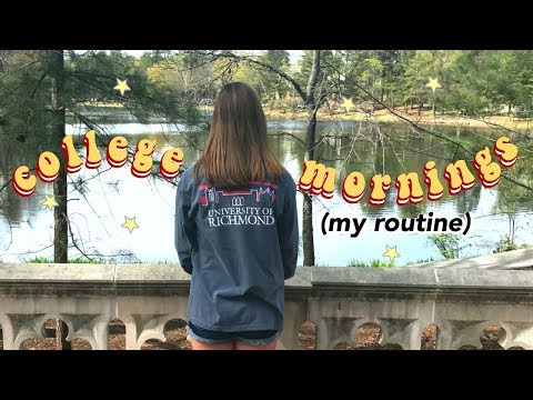 College Morning Routine!