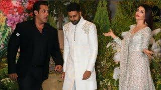 Salman Khan And Aishwarya Rai Under One Roof At Sonam Kapoor's Reception