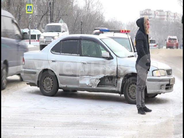 Обзор ДТП в Хабаровске (11 января 2020).  Mestoprotv