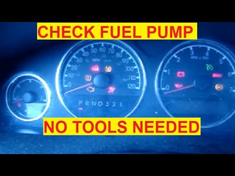 How To Test Fuel Pump Relay Switch - YouTube